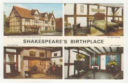 Warwickshire - Stratford-Upon-Avon   -   Shakespeare's Birthplace        Multivues - Stratford Upon Avon