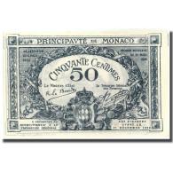 Billet, Monaco, 50 Centimes, 1920, 1920-03-20, KM:3a, NEUF - Mónaco