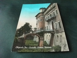 CASTELLO CASTLE  CHATEAU SCHLOSS CHIGNOLO PO CASTELLO CUSANI VISCONTI ANNULLO PAVIA - Castelli