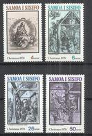 SAMOA AND SISIFO 1978 - CHRISTMAS - CPL. SET - MNH MINT NEUF NUEVO - Samoa