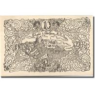 Billet, Autriche, Mittelberg, 10 Heller, Ruine 1920-12-31, SPL Mehl:FS 158 - Austria