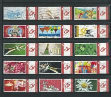 # Belgie - 15 X Duostamp - Mooi Lotje - Afgestempeld - Lot Nr. 1024 - Timbres