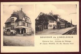 Lingolsheim Commerce épicerie Fine  - Propriétaire Mr Wurtz Charles - Articles De Ménage * Bas-Rhin 67380 * - France