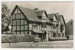 Warwickshire - Stratford-Upon-Avon   -   Shakespeare's Birthplace - Stratford Upon Avon