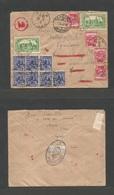 DENMARK. 1942 (25 Feb) Algeria, Arzew - Switzerland, Geneve - Denmark (2 March) Addressed To Danish Consul, Who FORWARDE - Danemark