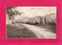 55 Meuse, Aubréville, La Rue Chantereine, Ruines, Guerre 1914-18, 1917, (Imp. Réunis) - Autres Communes