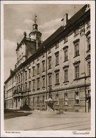 Breslau 1937 (29.7.) PP 6 Pf. Hindenbg. Grün: Universität = 12. Deutsches Sängerbundesfest Breslau/75 Jahre DSB + SSt.:  - Stamps