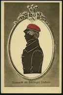 Göttingen 1915 (ca.) Bismarck-Spenden-Ak.: Bismarck Als Göttinger Student , Ungebr. (= V.D.A.-Flüchtlingshilfe) - - Stamps