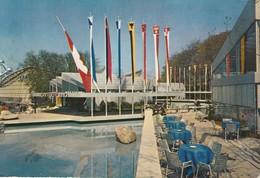Exposition Universelle De Bruxelles 1958 The Pavilion Of Switzerland : Interior And The Lake Le Pavillon De La Suisse - Universal Exhibitions