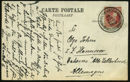 BELGIEN 1910 (19.8.) 1K-SSt.: BRUSSEL - TENTOONSTELLING/ BRUXELLES - EXPOSITION , Klar Gest. S/w.-Foto-Ak.: Expo.. Facad - Weltausstellung