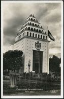 FRANKREICH 1937 (18.9.) BdMaWSt.: EXPOSITION DE 1937/ PARIS (5 Wellen) Auf S/w.-Foto-Ak.:  Pavillon De L'Irak (Irak-Pavi - Weltausstellung