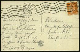 FRANKREICH 1937 (Okt.) MawellenSt.: PARIS/EXPOSITION DE 1937 Auf S/w.-Foto-Ak.: CENTRE REGIONAL (div. Expo-Pavillons U.  - Weltausstellung