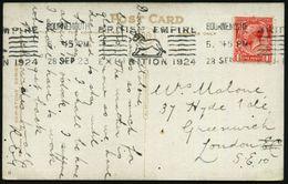 GROSSBRITANNIEN 1923 (28.9.) BdMaWSt.: BOURNEMOUTH/ BRITISH EMPIRE/ EXHIBITION 1924 = Krag-Stempelmaschine (Löwe) Bedarf - Weltausstellung