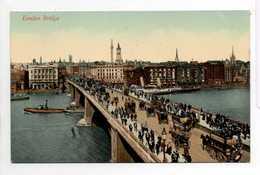 - CPA LONDON (Angleterre) - London Bridge (belle Animation) - - London Suburbs