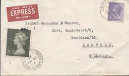 3401    Carta Urgente London  1972, - 1952-.... (Elizabeth II)