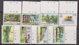 Zil Elwagne Sesel - Seychelles -  Touris Landscape Set MNH - Seychelles (1976-...)