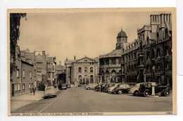 - CPA OXFORD (Angleterre) - BROAD STREET WITH THE SHELDONIAN THEATRE IN BAKGROUND - - Oxford