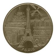 Monnaie De Paris , 2008 , Paris , Les 5 Monuments , Revers 08 EVM-F - Monnaie De Paris
