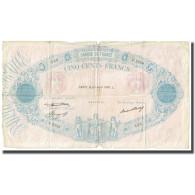 France, 500 Francs, Bleu Et Rose, 1936, P. A.Strohl-G.Bouchet-J.J.Tronche - 1871-1952 Antichi Franchi Circolanti Nel XX Secolo