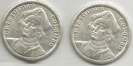 Cristoforo Colombo, Trans Mare Currunt, Mist. Gr. 7, Cm. 2,8. - Italia
