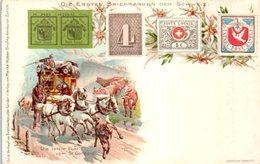 TIMBRES -- SUISSE - Die Ersten Briefmarken Der - Stamps (pictures)