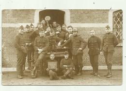 Kamp De Beverloo -Fotokaart Soldaten , Encore 100 - Leopoldsburg (Camp De Beverloo)