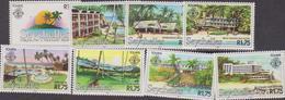 Zil - Seychelles -  Touris Landscape Set MNH - Seychelles (1976-...)
