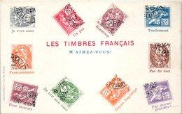 TIMBRES -- Les Timbres Français - Stamps (pictures)