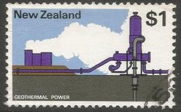 New Zealand. 1970 Definitives. $1 Used. SG 933 - New Zealand