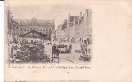 CPA PRECURSEUR LOUVAIN (BELGIQUE) LE VIEUX MARCHE - COLLEGE DES JOSEPHITES - Leuven