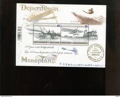 Belgie 2013 Blok Feuillet BL207 Airplane Crombez St Denijs Westrem Monoplane Deperdussin   MNH - Libretti 1962-....