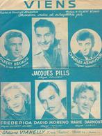 Viens - Gilbert Bécaud, Charles Aznavour, Jacques Pills...(p: Charles Aznavour - M: Gilbert Bécaud), 1952 - Música & Instrumentos