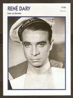 PORTRAIT DE STAR 1938 FRANCE - ACTEUR RENE DARY DANS LE REVOLTE MARIN BACHI  - ACTOR CINEMA FILM PHOTO - Foto