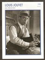 PORTRAIT DE STAR 1938 FRANCE - ACTEUR LOUIS JOUVET DANS HOTEL DU NORD - ACTOR CINEMA FILM PHOTO - Fotos