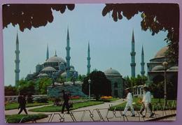ISTANBUL - Sultan Ahmet Camii - Blue Mosque - Blaue Moschee -    Vg - Turchia