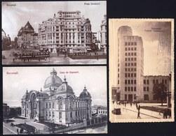 3 X VINTAGE OLD CARD * BUCURESTI * - Roumanie