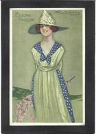 CPA Mauzan Femme Girl Woman érotisme Glamour Fantaisie écrite N° 301-3 - Mauzan, L.A.