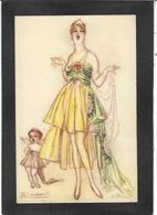 CPA Mauzan Femme Girl Woman érotisme Glamour Fantaisie écrite N° 79-4 - Mauzan, L.A.