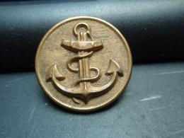 Bouton à L'ancre De Marine à Identifier - Boutons