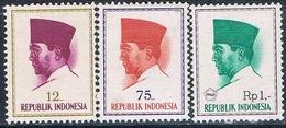Indonesia 1964 / 66  -  Michel  426 + 431 + 528   ( Nuevos )  ( ** ) - Indonesia