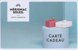 Carte Cadeau   ## Centre Commercial  MERIGNAC SOLEIL ##    Gift Card, Giftcart, Carta Regalo, Cadeaukaart - Cartes Cadeaux