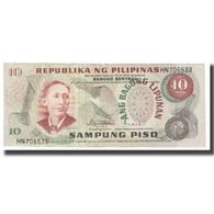 Billet, Philippines, 10 Piso, KM:144a, TTB - Philippinen