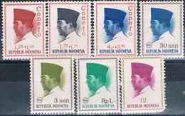 Indonesia 1964 / 66  -  Michel  426 + 474 / 75 + 478 + 508 + 517 + 528   ( Nuevos )  ( ** ) - Indonesia