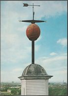 The Time Ball Signal, Old Royal Observatory, Greenwich, C.1970s - HMSO Postcard - London Suburbs