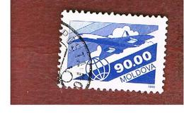 MOLDAVIA (MOLDOVA)   -  SG 73   -   1993  AIR: SUPERSONIC PLANE TUPOLEV TU-144   -   USED - Moldova