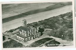 Cadzand 1954; Bondshotel Noordzee (Luchtfoto) - Gelopen. (Eigen Uitgave) - Cadzand