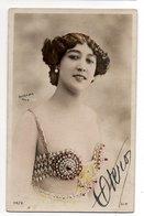 REUTLINGER PARIS * FEMME * OTERO  * Carte Colorisée * AUTOGRAPHE * 118/8 - Artistes