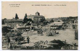 RC 12673 MARNE 51 SOMME - TOURBE LA PLACE DU MARCHÉ - France