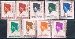 Indonesia 1965  -  Michel  473 / 76 + 478 / 81 + 484   ( Nuevos )  ( ** ) - Indonesia