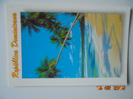 Republica Dominicana. Costa Norte. Francois De Zorzi / Linea Zeta 15 Postmarked 2007. - Dominicaine (République)